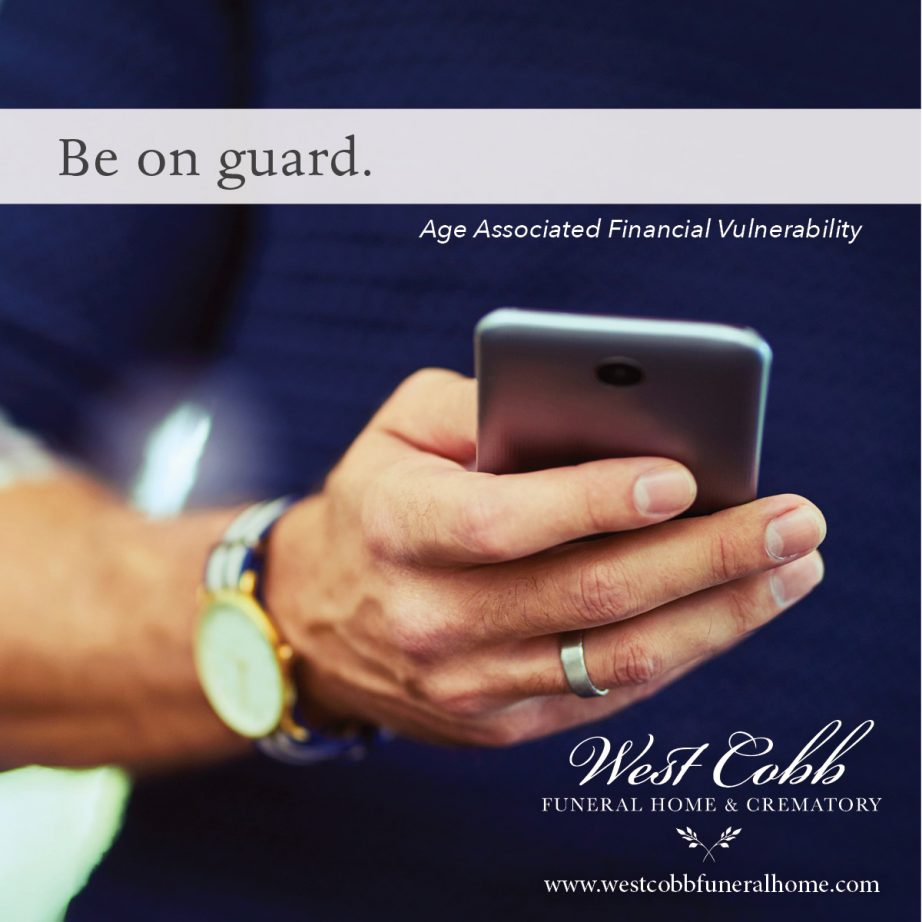 Age-Associated Financial Vulnerability
