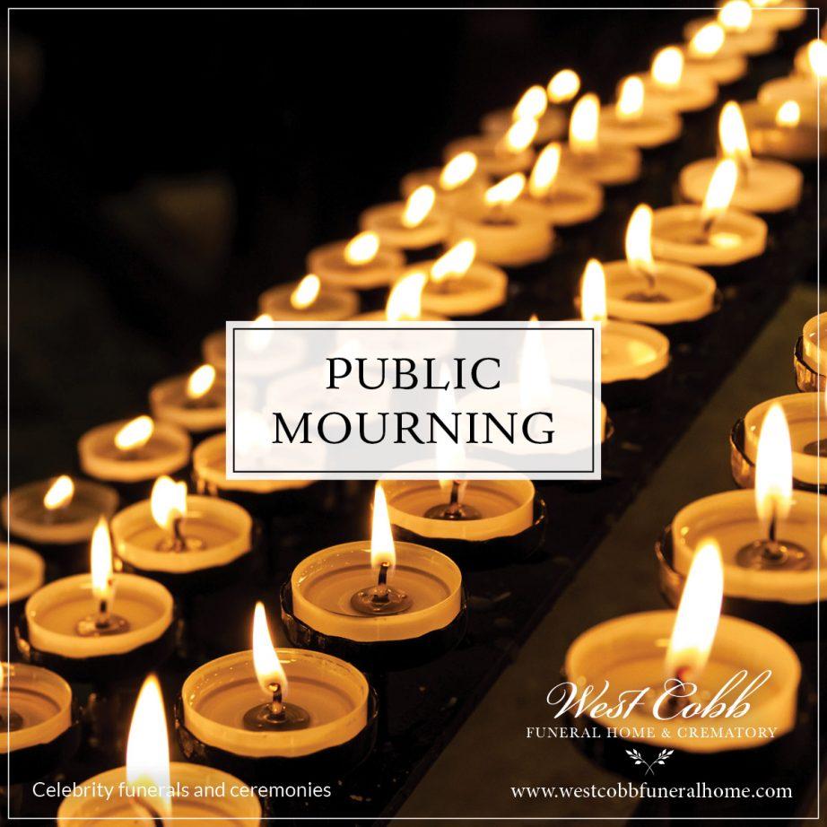 Celebrity Funerals and Ceremonies