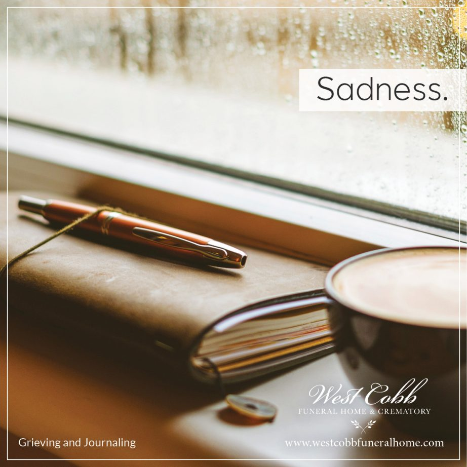 What helps when a person is sad?